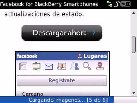 Instalacion Facebook en BlackBerry 8520 Utilizando el Navegador