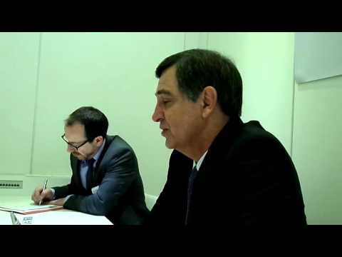 Johan van Zyl - Toyota Europe president - Geneva /1/