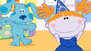 BLUE'S CLUES - Birthday Party Dress Up  - New Blue's Clues Game - Online Game HD - Gameplay for Kids