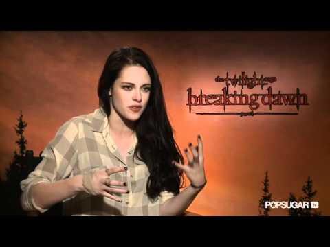 Kristen Stewart on Why Robert Pattinson Made Her