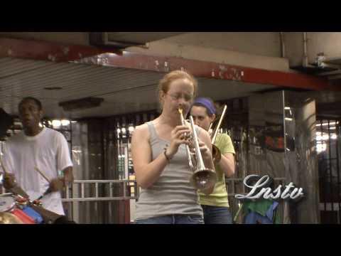 Drumadics live 42st time square new york