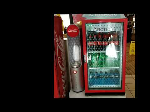 Arctic COKE!!! Machine makes coke into a slush in 20 seconds! For FREE!!!