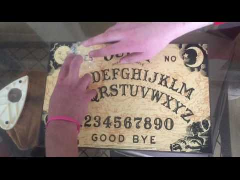 CONTACTING ZOZO AGAIN ON OUIJA BOARD (MOVED BY ITSELF)