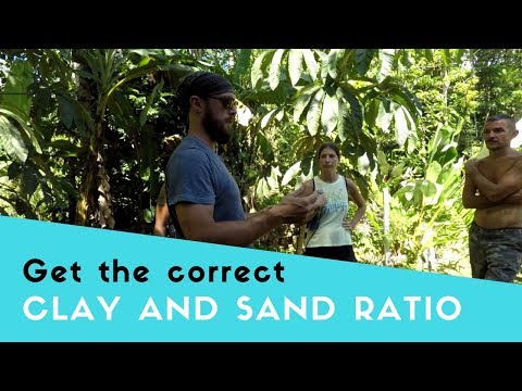 Building With Cob | Getting the Right Clay and Sand Ratio