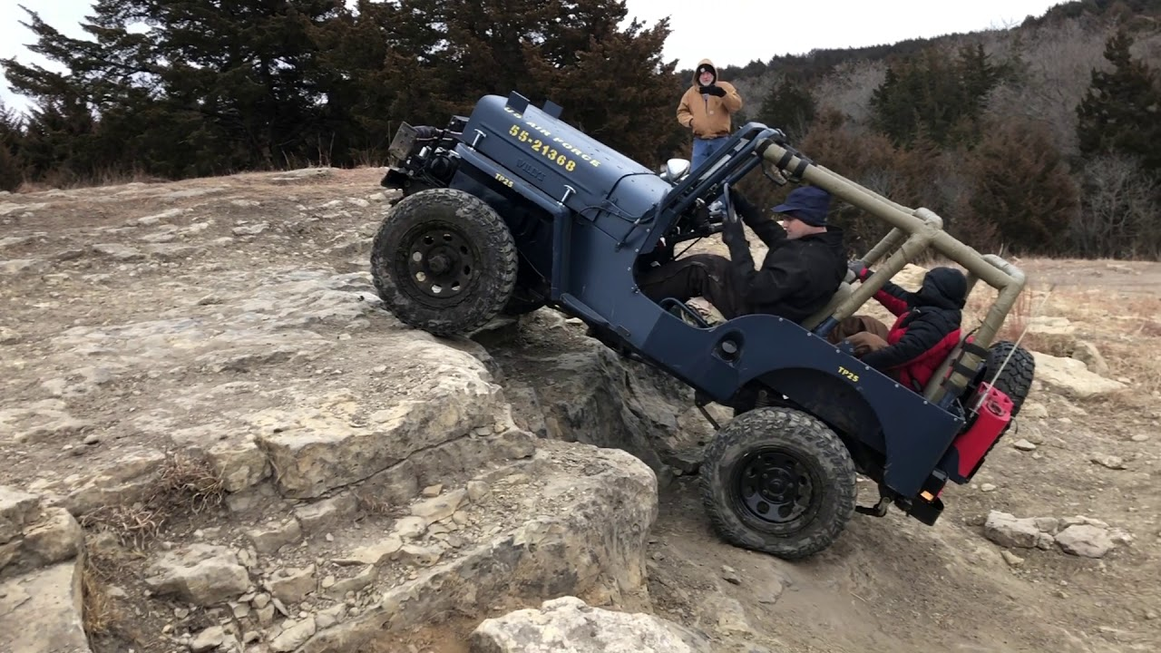 Willys Jeeps @ Tuttle Creek OHV January of 2021