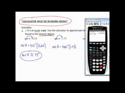 9.2e Use Trig to Find Angles