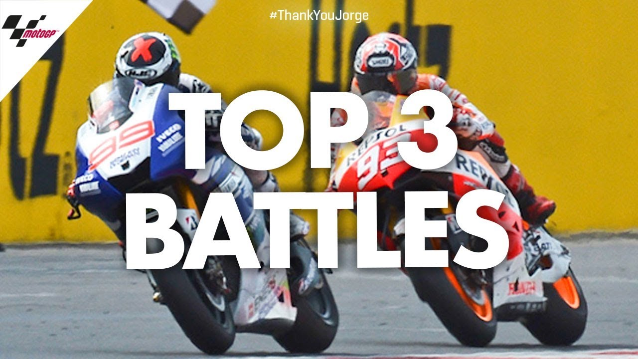 Jorge Lorenzo's top 3 battles! | #ThankYouJorge