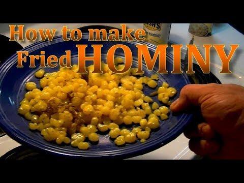 Fried Hominy