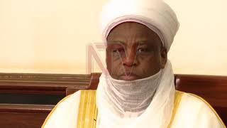 Kabaka asiibudde omugenyi we Sultan Mohammad owa Sokotto, Nigeria
