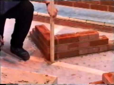 13 Erecting a Right Angle Quoin in Brick