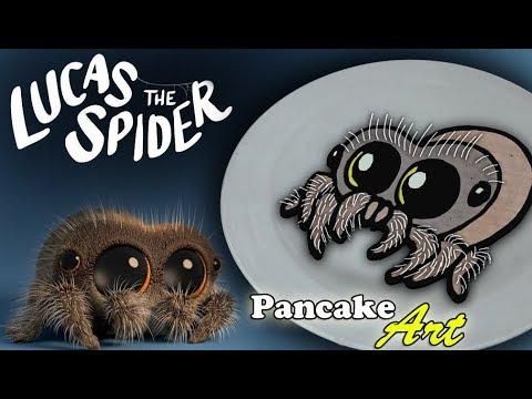 Lucas the Spider - Pancake Art