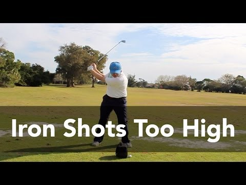 How to Stop Hitting Irons Too High | Golf Instruction | My Golf Tutor