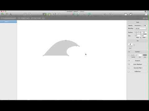 Sketch by Bohemian Coding Tutorial - Vector Surf Logo
