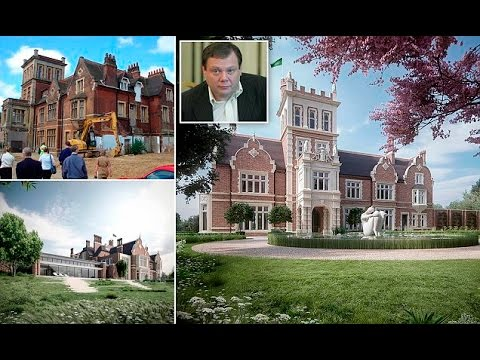 Ukrainian billionaire oligarch gets the go ahead to turn derelict mansion into one of London