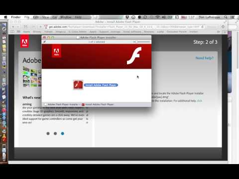 How to Install the Flash Player Plugin for Mac