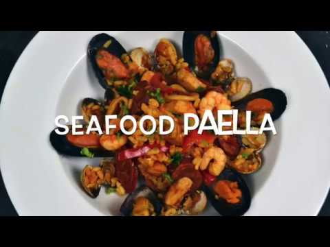How to cook Seafood Paella | Popular Spanish dish | Homefoodbuzz
