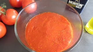 BEST way to make and store TOMATO PUREE for months! Poonam