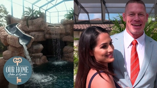 John Cena and Nikki Bella have the best swimming pool ever! - Our Home: John & Nikki