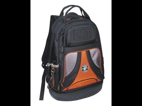 The Klein Tools 55421BP-14 Tradesman Pro Organizer Backpack Review