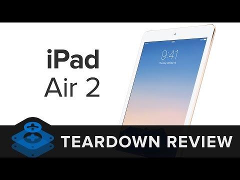 The iPad Air 2 Teardown Review!