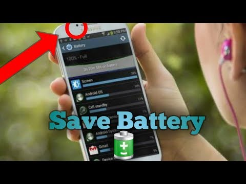 How To Save Mobile Battery Using Mobile Sensor    Play Video Songs sto audio