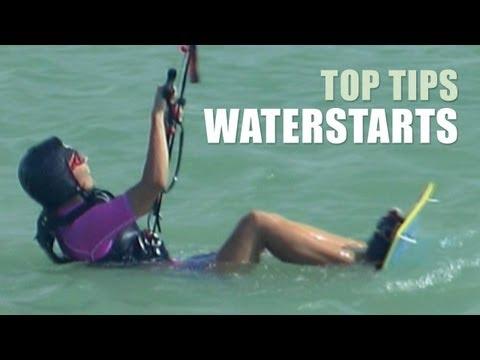 Waterstart - Kitesurfing Top Tips