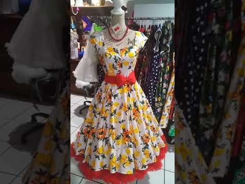 Tracey Ann Retro clothing, Rockabilly,  retro,  pin up,  rock n roll,  full circle swing dress