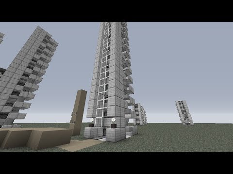 TUTORIALS - Hyperfast 20m/s Ultracompact Elevators Minecraft 1.6.4 and Future! (SP ONLY)