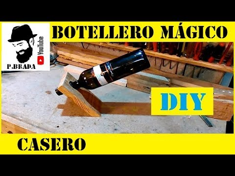 Botellero mágico By Paolo Brada DIY