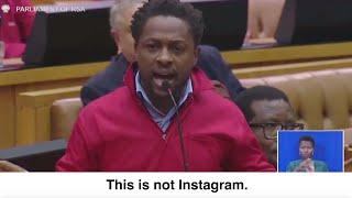 Ndlozi and Malema call Malusi Gigaba 'Minister of Instagram'