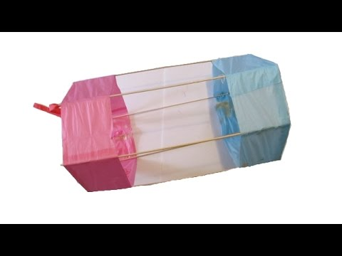 Make a Hexagonal Box Kite
