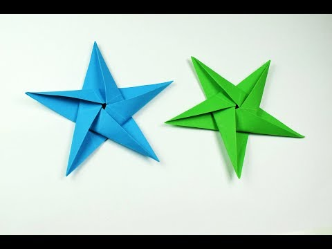 How to make a paper Star?