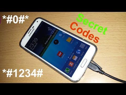 Samsung Galaxy S5 Secret Codes