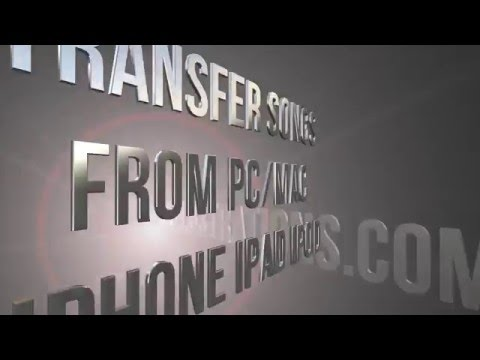 How to Transfer Songs from computer PC/Mac to iPhone iPod iPad