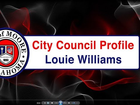 City Council Member Louie Williams