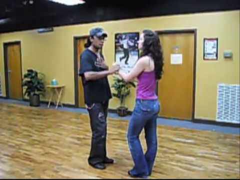 Learn How to Dance Bachata Dominican Style (Basic Step) with SalsaKnox