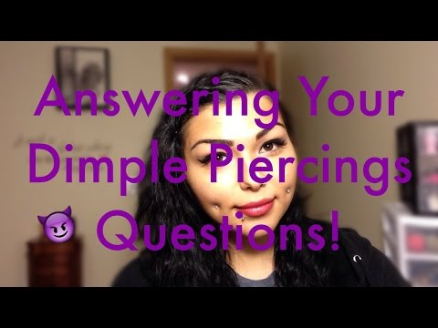 Answering Your Dimple Piercings Questions! | NativeBeauty