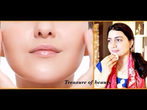 It's a treasure of beauty - clean your face twice a day & get shiny, glowing & attractive skin!