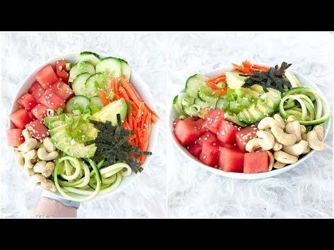 HEALTHY POKE BOWL! Vegan, Homemade and Easy Recipes!