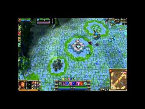 League of Legends - Rammus speed run: ~3000 move speed