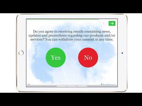 Quick Contact Information CASL Survey Template - QuickTapSurvey