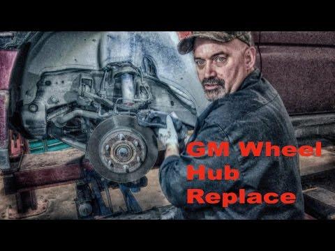 Chevy GMC Front Wheel Bearing Hub Replace
