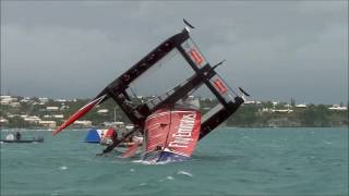 team new zealand capsize at americas cup june 6 2017