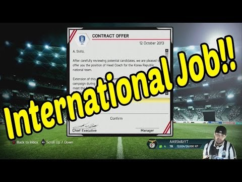 OMG INTERNATIONAL JOB OFFERS!!!! FIFA 14 Career Mode #13