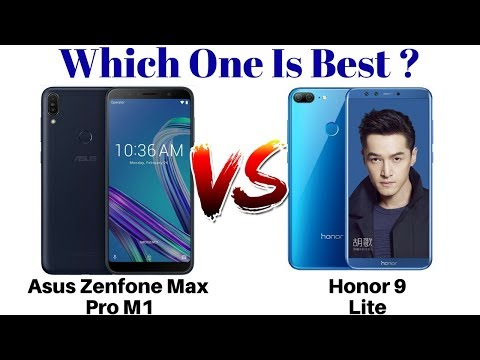 Asus Zenfone Max Pro M1 Vs Honor 9 Lite | Which One Is Best Under Rs 11000 ??