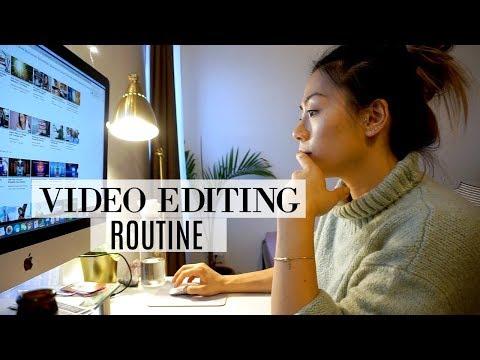 My YouTube Video Editing Routine | VLOGMAS EP. 3