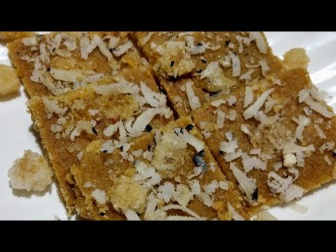 गूंदकी गुड़ पापडी बनाने की विधि    gujarati sukhdi recipe in hindi