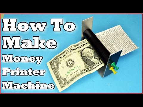 How To Make: Money Printer Machine!