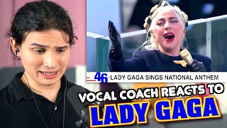Vocal Coach Reacts to Lady Gaga Singing The National Anthem