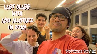 LAST CLASS WITH ASD ALLSTARZ IN 2019 | VLOGMAS DAY 22